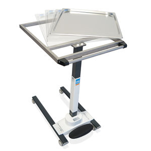 instrument table on casters / height-adjustable