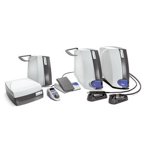 dental laboratory micromotor control unit / electric / benchtop / complete set