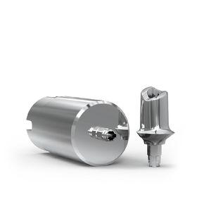 titanium implant abutment