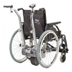 electric wheelchair drive unit / back