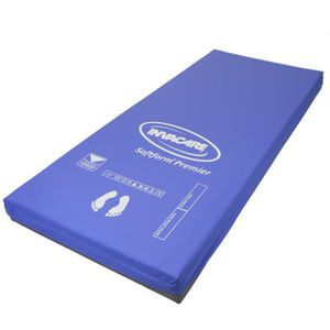hospital bed mattress / foam / anti-decubitus / multi-layer