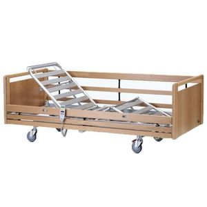 medical bed / electric / height-adjustable / 4-section