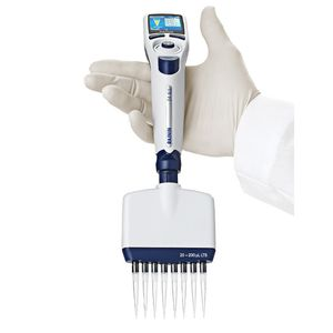 electronic pipette / variable-volume / multichannel