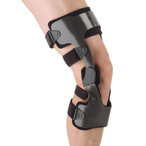 knee orthosis / knee ligament stabilization / articulated / pediatric