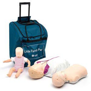 CPR training manikin / torso / with digital real-time feedback / manikin set