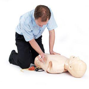 manual resuscitation training manikin