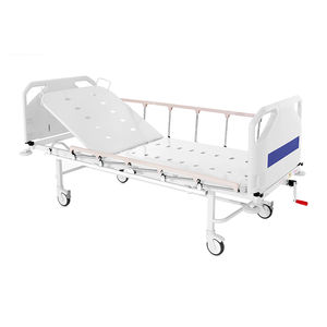 hospital bed / manual / folding / tilting