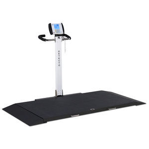 electronic platform scale / dialysis / for stretcher trolleys / with digital display