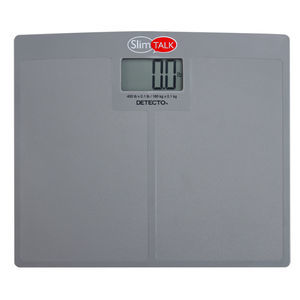 electronic patient weighing scale / home / with digital display / platform