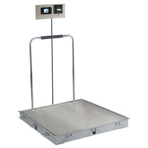 dialysis platform scale / electronic / with LCD display / platform