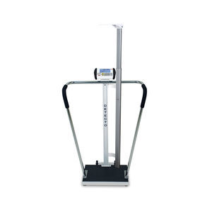 electronic patient weighing scales / bariatric / with digital display / column type