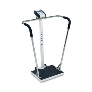 electronic patient weighing scales / with digital display / column type / with BMI calculation