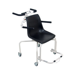 electronic patient weighing scales / with digital display / portable / chair