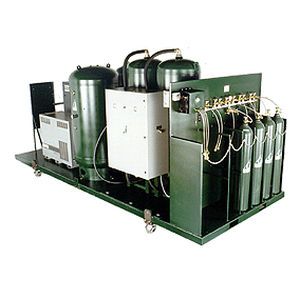 medical cylinder filling system