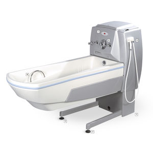 Electric medical bathtub - MAGIC series, BASIC/BASIC+ - Georg Krämer Ges -  height-adjustable