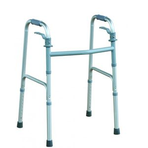 height-adjustable walker / folding