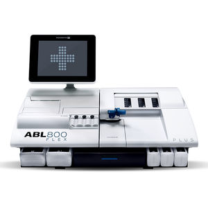 pH blood gas analyzer / with electrolyte analysis