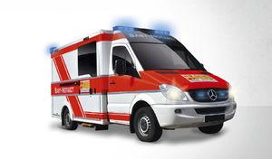 box body ambulance / type C / for babies