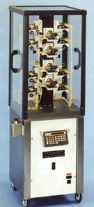 multi-channel media dispenser / automated / manual / laboratory