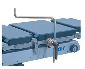 lateral support / for operating tables / universal / stainless steel