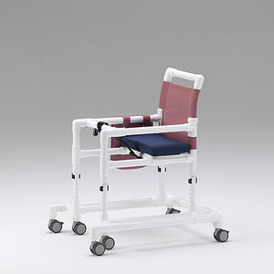 6-caster rollator / with seat / height-adjustable / pediatric