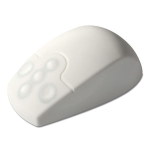 USB medical mouse / silicone / disinfectable / washable