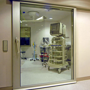sliding door / hospital / for healthcare facilities / laboratory