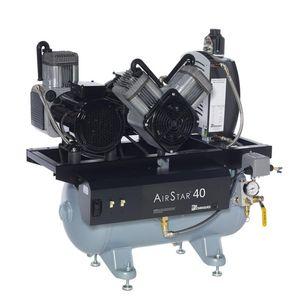 dental compressor / 1-workstation / oil-free / with air dryer