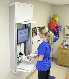 medical computer workstation