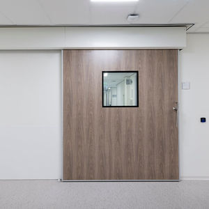 sliding door / for radiology services / intensive care / MRI