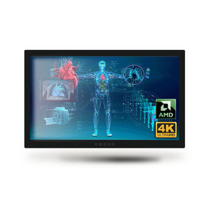 AMD medical panel PC / quad-core / full HD / multitouch screen