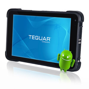 quad-core medical tablet PC / with barcode scanner / with touchscreen / rugged