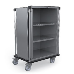 sterile material cabinet / with shelf / with door / mobile