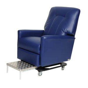 lift chair / reclining / on casters / manual