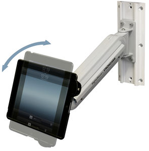 wall-mounted tablet PC support arm / articulated