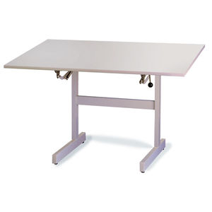 height-adjustable ergotherapy table