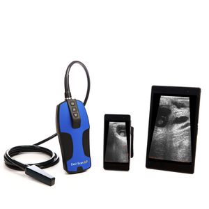 hand-held veterinary ultrasound system / multipurpose / for cattle / for equines