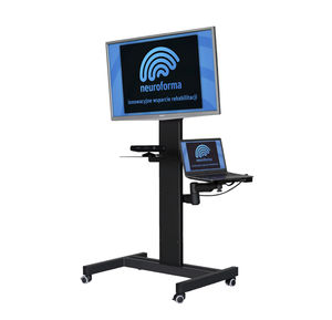 virtual rehabilitation system with serious games / with interactive workout / children