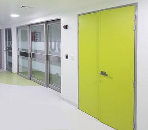 high-pressure laminate door