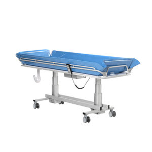 height-adjustable shower trolley / bariatric