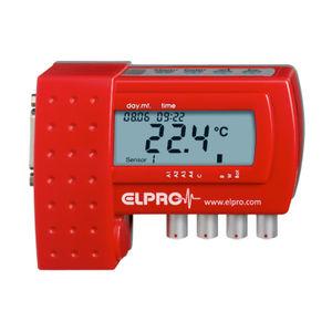temperature data logger / 4-channel