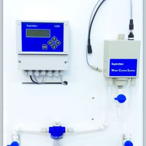 control analyzer / pH / chlorine dioxide / for water analysis