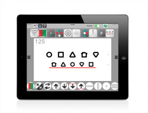 diagnostic software / test / ophthalmology / for tablet PC