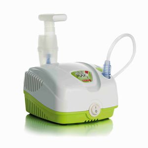electro-pneumatic nebulizer / with compressor / pediatric