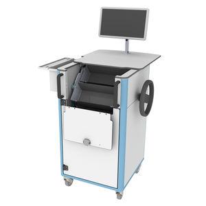 medicine distribution computer cart
