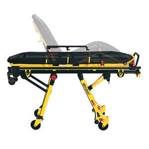 ambulance stretcher trolley / manual / height-adjustable / removable platform