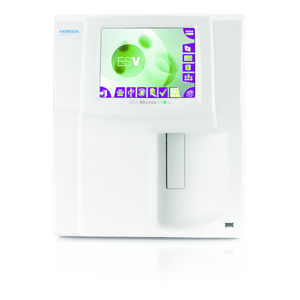 18-parameter hematology analyzer / for animals / compact / veterinary