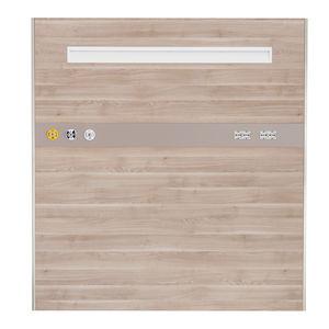 horizontal bed head unit / wall-mounted / vertical / modular