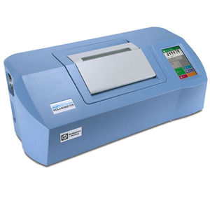 automatic polarimeter / for the food industry / digital / with touchscreen