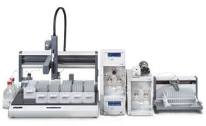 high-performance liquid chromatography system / DAD / ELSD / UV